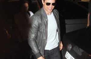 Tom Cruise janta com colegas de elenco no Leblon, Zona Sul do Rio