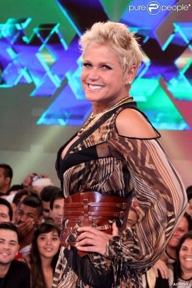 Na coletiva de imprensa organizada por uma marca de cosmético, Xuxa disse ter uma paixão voraz por chocolate e nem sempre consegue resistir