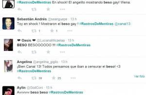 Último capítulo de 'Amor à Vida' tem primeiro beijo gay de TV chilena: 'Choque'
