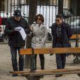 Gloria Pires e Cássio Gabus Mendes recebem ajuda do diretor Dennis Carvalho