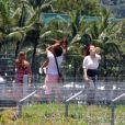 Josie Pessoa grava cena para novela 'Império', nesta quinta-feira, 8 de janeiro, na Lagoa Rodrigo de Freitas, na Zona Sul do Rio de Janeiro