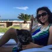 Carolina Oliveira prepara o corpo para viver periguete na TV: 'Barriga negativa'