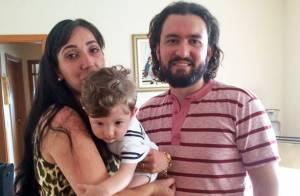 Marco, do 'BBB15', é marido dedicado e paizão. Veja fotos dele com a família