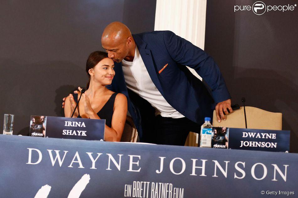 Dwayne johnson teria sido piv da separa o de irina shayk for La roca film