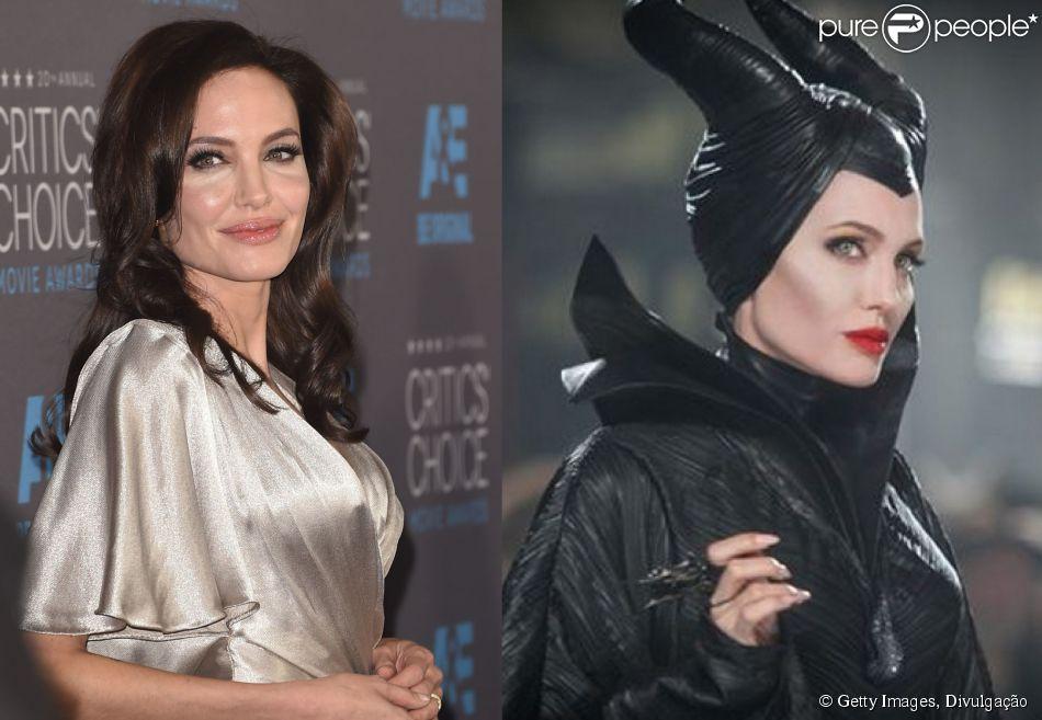 Em 2014, Angelina Jolie brilhou como a madrasta má do clássico 'A bela adormecida', no filme 'Malévola', especialmente dedicado à vilã. O longa arrecadou mais de R$ 1 bilhão nas bilheterias dos cinemas