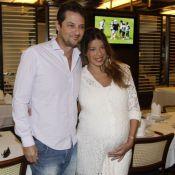 Marcelo Serrado já é papai! Nascem os gêmeos com a bailarina Roberta Fernandes