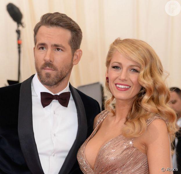 Ryan Reynolds negou que o nome de sua filha com Blake Lively é Violet, mas também não revelou o verdadeiro nome da menina, em 4 de fevereiro de 2015