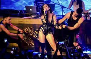 Wanessa exibe silhueta mais fina durante show em festa no Rio: 'Maravilhoso'