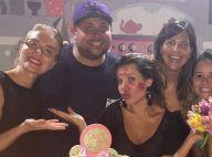 Fernanda Souza faz chá de panela com Carolina Dieckmann e Angélica: 'Muito amor'