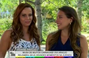 Viviane Araújo fala sobre momentos na Sapucaí: 'Procuro minha mãe'