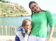 Angélica brinca com barriga de grávida de Fernanda Gentil em gravação