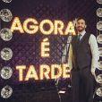 Rafinha Bastos apresenta o 'Agora é Tarde', concorrente do 'The Noite'
