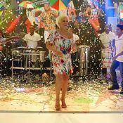 Ana Maria Braga dança e se 'candidata' ao posto de loira do Tchan: 'Treinando'