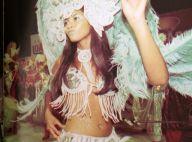 Taís Araújo revela ao postar foto no Carnaval: 'Já fui madrinha de bateria'
