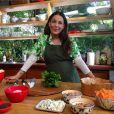 Carolina Ferraz comanda o programa 'Receitas de Carolina', no GNT