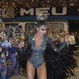 Dani Bolina evitou nudez no desfile da Vila Maria: 'Prefiro vir mais comportada'