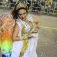 Maria Rita é destaque de Carnaval da escola de samba Vai-Vai, em São Paulo