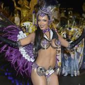 Carla Prata esbanja boa forma no Carnaval e não conta preço da fantasia:'Ganhei'