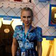A estilista Lethicia Bronstei curtiu o camarote da Boa, na Marquês de Sapucaí, no Rio de Janeiro