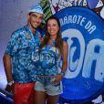 Famosos curtem o camarote da Boa, na Marquês de Sapucaí, no Rio de Janeiro