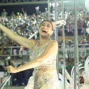 Lilia Cabral desfila com Alexandre Nero e Leandra Leal: 'Me sentindo diamante'