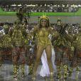 Após desfile emocionado na Viradouro, Juliana Paes diz que não volta mais ao posto de rainha de bateria no Carnaval: 'Já encerrei'