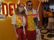 Leandra Leal e Josie Pessôa apostam em disco pants para curtir o Carnaval