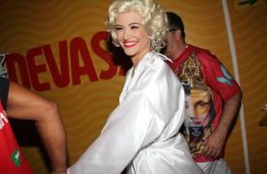 Juliana Paiva desfila vestida de Marilyn Monroe na União da Ilha: 'Uma honra'