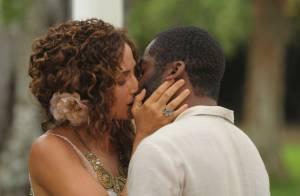 Isabel e Zé Maria se beijam e têm noite de amor na novela 'Lado a Lado'
