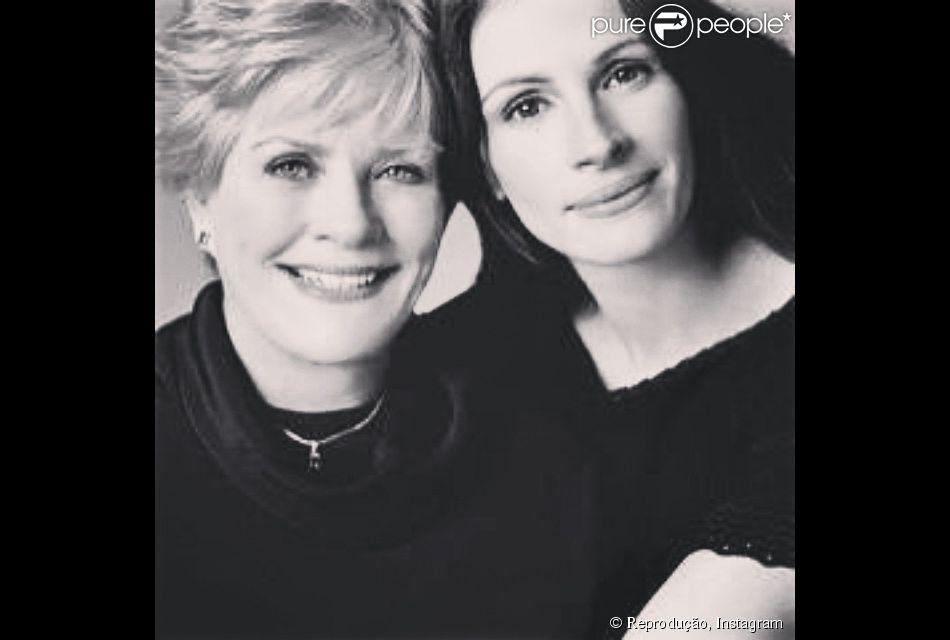 Mãe da atriz Julia Roberts morre aos 80 anos, nos Estados Unidos, nesta quinta-feira, 19 fevereiro de 2015. Betty Lou Motes sofria de câncer no pulmão