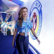 Ex de Ronaldo, Paula Morais chega a camarote onde empresário curte com namorada