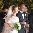 Fernanda Souza e Thiaguinho esbanjaram felicidade após o casamento