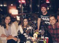 Bruna Marquezine e Tatá Werneck encontram Paulo Gustavo em jantar em Nova York
