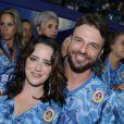 Fernanda Vasconcellos e Cássio Reis estão morando juntos, segundo o jornal 'O Dia', em 2 de março de 2015