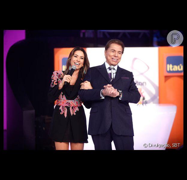 Patricia Abravanel garantiu que o pai, Silvio Santos, não vai deixar a TV: 'Não vai se aposentar'