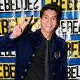 Arthur Aguiar na estreia da novela teen 'Rebelde', em 2011. O trabalho alavancou a carreira do jovem artista