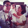 Juliana Knust posta foto com Zeca Pagodinho