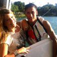 Neymar e Mariana Cartier gravam programa para o canal SporTV