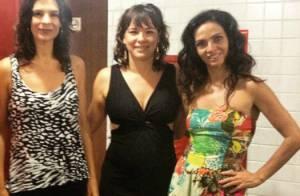 Grávida do segundo filho, Regiane Alves exibe barriguinha discreta em foto
