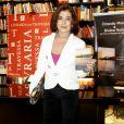 Betty Faria fez questão de comparecer ao lançamento do DVD de Orlando Morais
