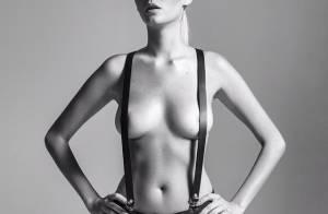 Bárbara Evans posta foto de topless no Instagram e recebe elogios: 'Linda'