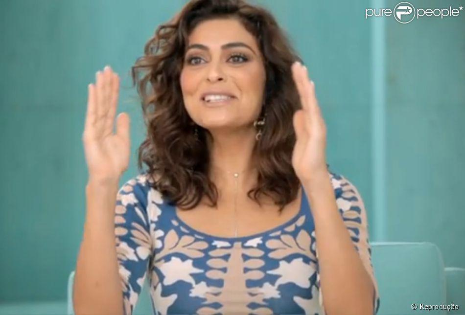 Juliana Paes contou em entrevista ao programa 'Superbonita' que por ser uma mulher muito exuberante precisa enxugar suas medidas na academia
