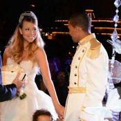 Vestida de princesa, Mariah Carey festeja 5 anos de casamento na Disney