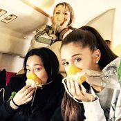 Jatinho de Ariana Grande sofre pane em voo e cantora coloca máscara de oxigênio