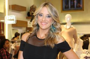 Ticiane Pinheiro vai a evento de moda da filha do ex-marido, Roberto Justus