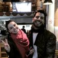 Isis Valverde e Uriel Del Toro estão em Nova York, após passarem pelo México, país no qual se encontraram