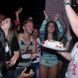 Anitta entrou no clima do 'parabéns pra você'