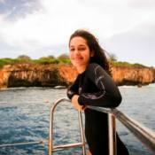 Maria Flor fez aulas de mergulho para 'Sete vidas': 'No mar foi mais fácil'