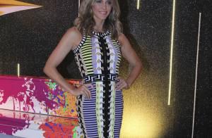 'SuperStar': Fernanda Lima usa look da grife Versace de R$ 7 mil em coletiva