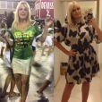Monique Evans emagreceu 10 quilos sem dieta rigorosa
